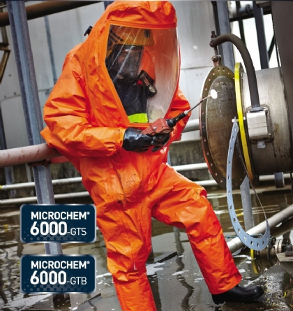 Microchem 6000-GTS - Chemical Protective Clothing